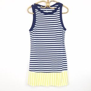 Kate Spade Chemise Sleepshirt Striped Nightgown M